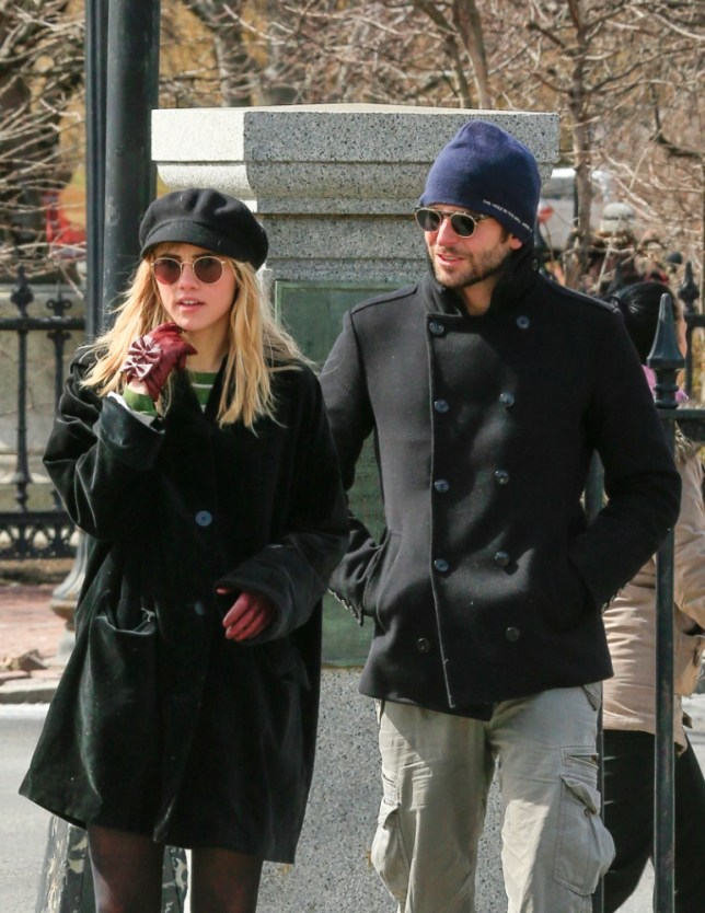 Bradley Cooper and rumored girlfriend Suki Waterhouse  enjoy the sites of Boston Common, Massachusettes while walking in freezing temperatures. <P> Pictured: Bradley Cooper and Suki Waterhouse <B>Ref: SPL511576  180313  </B><BR/> Picture by: Splash News<BR/> </P><P> <B>Splash News and Pictures</B><BR/> Los Angeles: 310-821-2666<BR/> New York: 212-619-2666<BR/> London: 870-934-2666<BR/> photodesk@splashnews.com<BR/> </P>