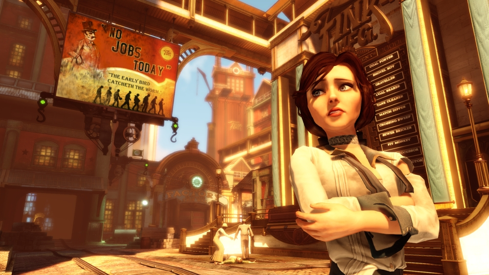 An ideological society, extreme religion and racism feature in BioShock Infinite (Picture: File)