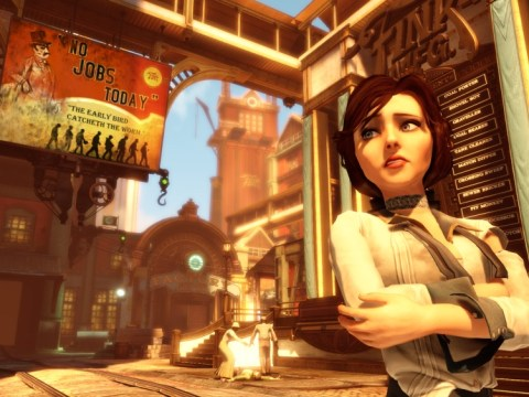 Is controversy the main selling point of BioShock Infinite?