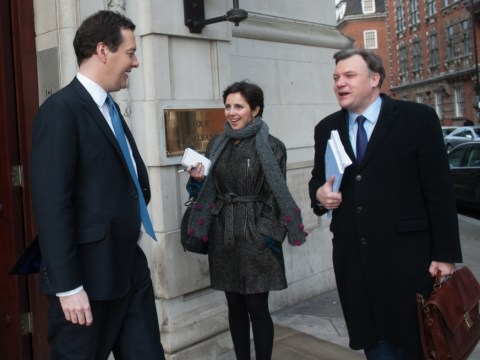 George Osborne defends 'straight' budget but poll shows voters feel worse off