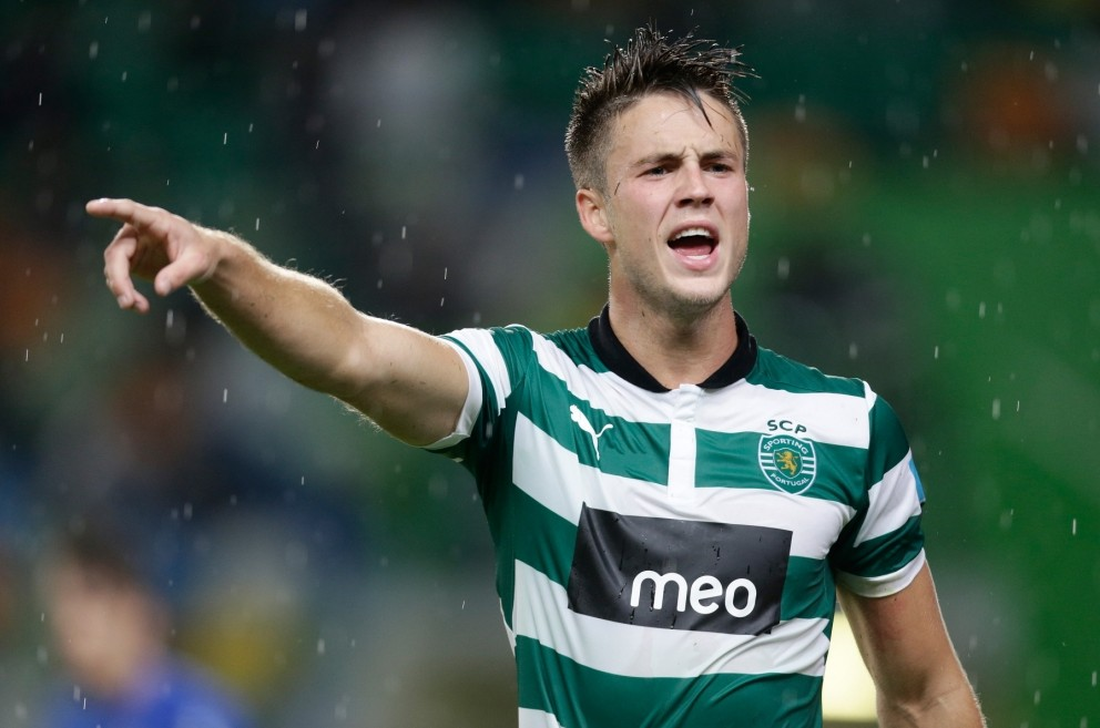 VI Images via Press Association Images FILE PHOTO: Norwich City have reportedly reached an agreement with Sporting Lisbon for the striker Ricky van Wolfswinkel. Ricky van Wolfswinkel of Sporting Club de Portugal Lisbon