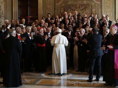 Gallery: Pope Francis greets foreign diplomats in March 2013