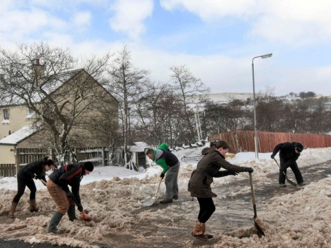Gallery: Severe weather continues to chill the UK – 24 March 2013