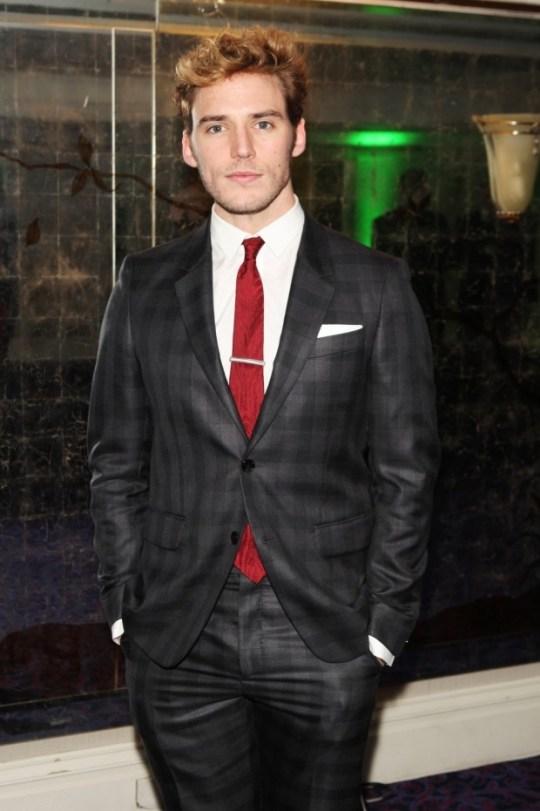 Sam Clafin attends the Jameson Empire Awards 2013 at Grosvenor House Hotel (Getty)