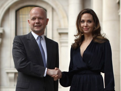 Angelina Jolie and William Hague head to Africa on anti-rape mission