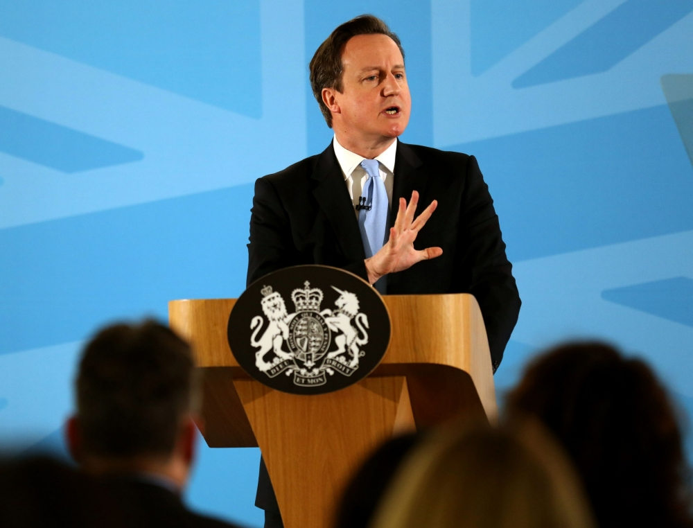 End of 'something for nothing'? David Cameron announces benefits crackdown for immigrants