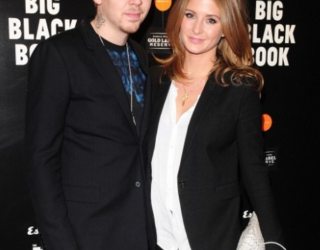 Millie Mackintosh praises Professor Green for choosing the 'perfect' engagement ring as they step out for the first time since Paris trip