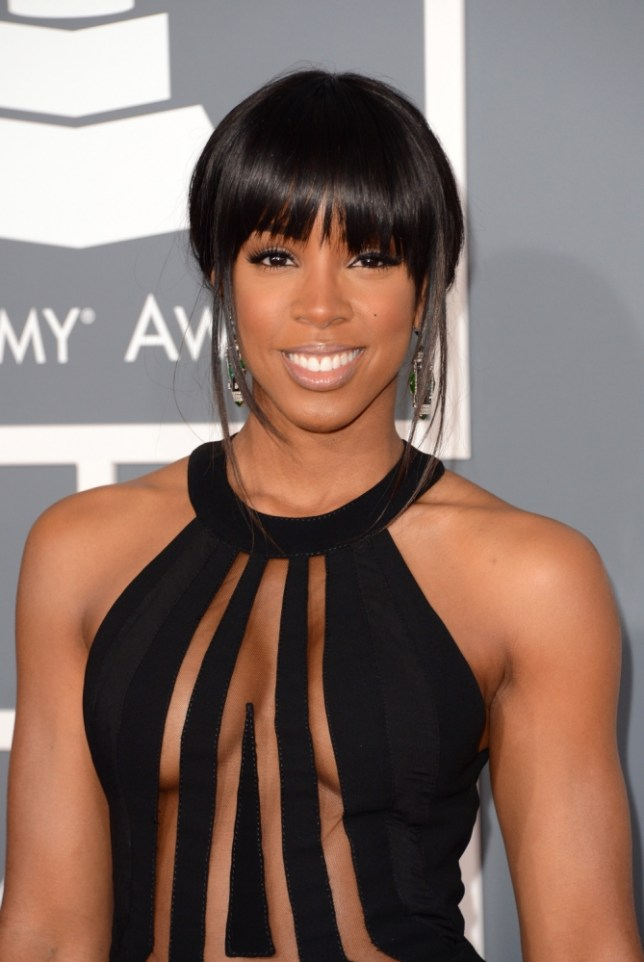 LOS ANGELES, CA - FEBRUARY 10:  Singer Kelly Rowland arrives at the 55th Annual GRAMMY Awards at Staples Center on February 10, 2013 in Los Angeles, California.  (Photo by Jason Merritt/Getty Images)
