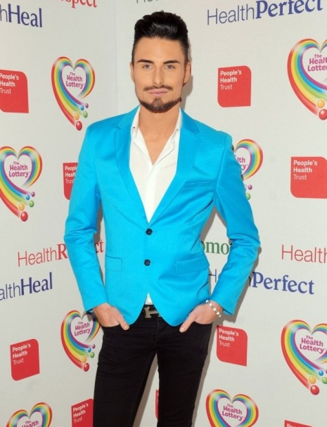 Rylan Clark arrives at a Health Lottery event at Claridges,  in London. PRESS ASSOCIATION Photo. Picture date: Thursday March 28, 2013.  Photo credit should read: Ian West/PA Wire