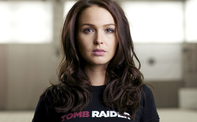 Could Camilla Luddington end ups as both the voice and face of Lara Croft?