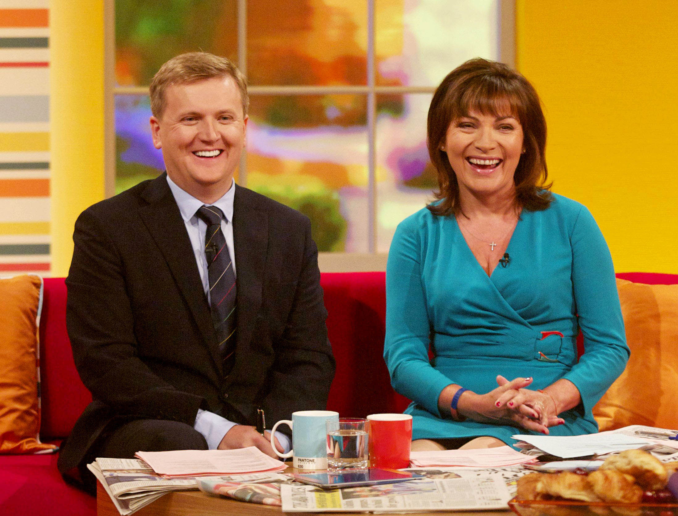 Daybreak Lorraine Kelly Aled Jones