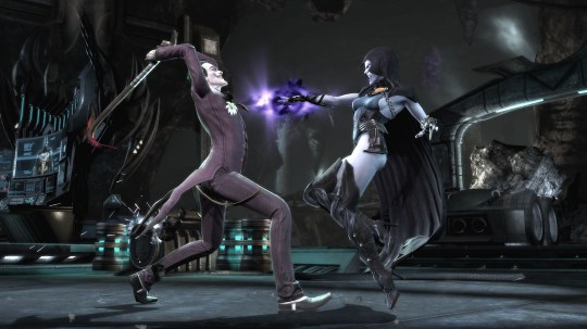 Injustice: Gods Among Us – Apparently Raven is a Teen Titan