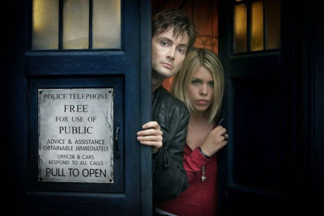 David Tennant and Billie Piper, Doctor Who