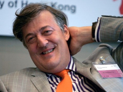 Desolation of Smaug star Stephen Fry admits: I've never read The Hobbit