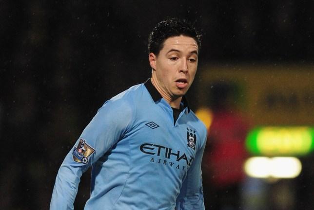 NORWICH, ENGLAND - DECEMBER 29:  Samir Nasri of Manchester City