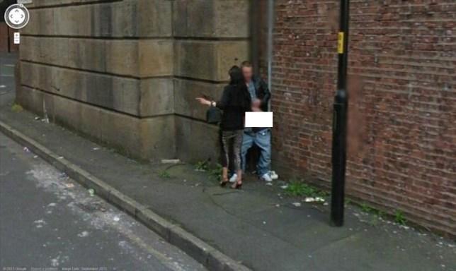 Manchester Google Street View