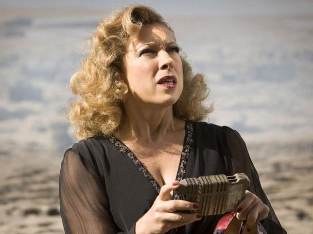 Alex Kingston plays River Song in Doctor Who