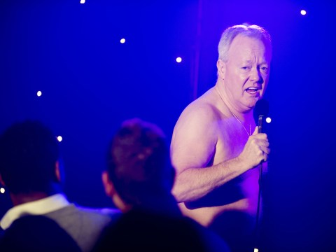 Keith Chegwin flashes the flesh in new images from Life's Too Short special