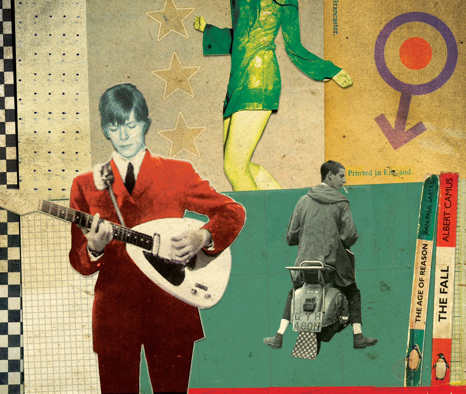 David Bowie is part of mod culture along with The Who (Picture: IFAN BATES/nbillustration.co.uk)