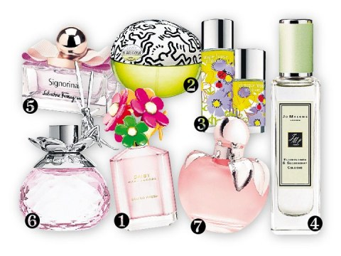 Spring is in the air with new fragrances from Marc Jacobs, DKNY, Nina Ricci and more