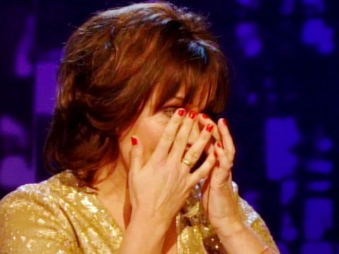 Lorraine Kelly breaks down during Piers Morgan's Life Stories interview
