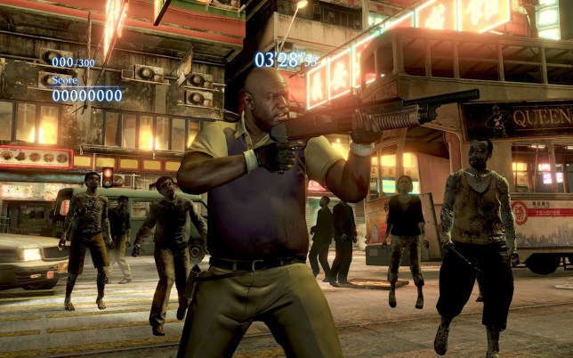 Resident Evil 6 – Coach takes on some B.O.W.s