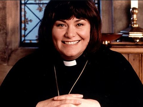 The TV vicar is returning: Dawn French to make a comeback as The Bishop of Dibley for one-off Comic Relief special