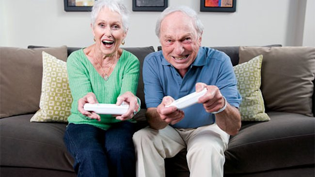 OAPs happier when they play video games finds research