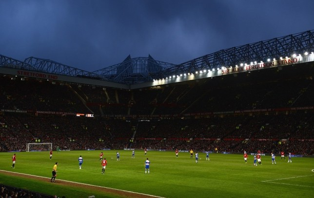 Wired for sound: United want to improve the sound levels at Old Trafford (Picture Getty)
