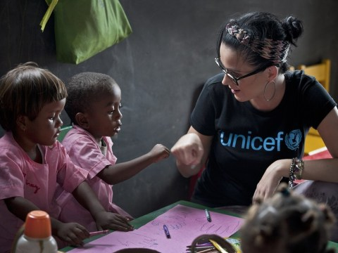 Katy Perry visits Madagascar in support of Unicef