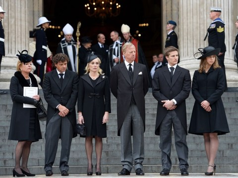 Margaret Thatcher's family finally left to grieve in private