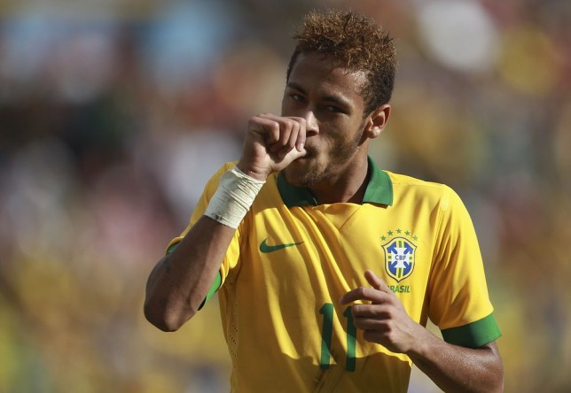 Neymar is a target of several of Europe's top sides (Picture: AP)