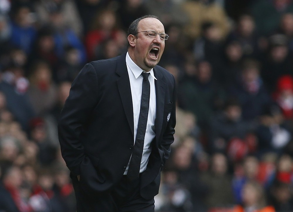 Rafael Benitez insists his squad can cope with the fixture congestion (Picture:  AP)