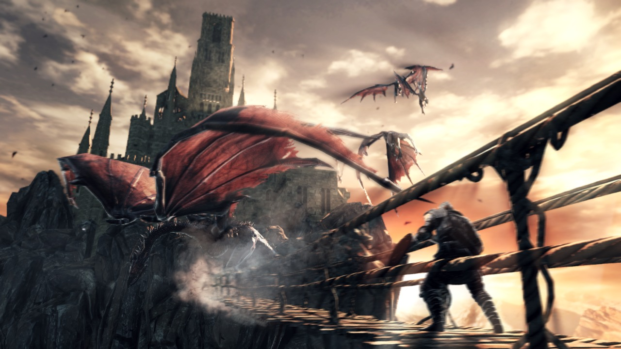 10 minutes of Dark Souls II in-game footage released