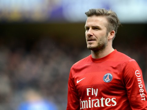 David Beckham: I'll carry on playing even if I don't stay at PSG