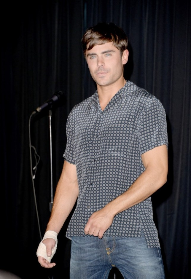 Zac Efron nervous filming sex scenes with Heather Graham (Photo by Jason Merritt/Getty Images)