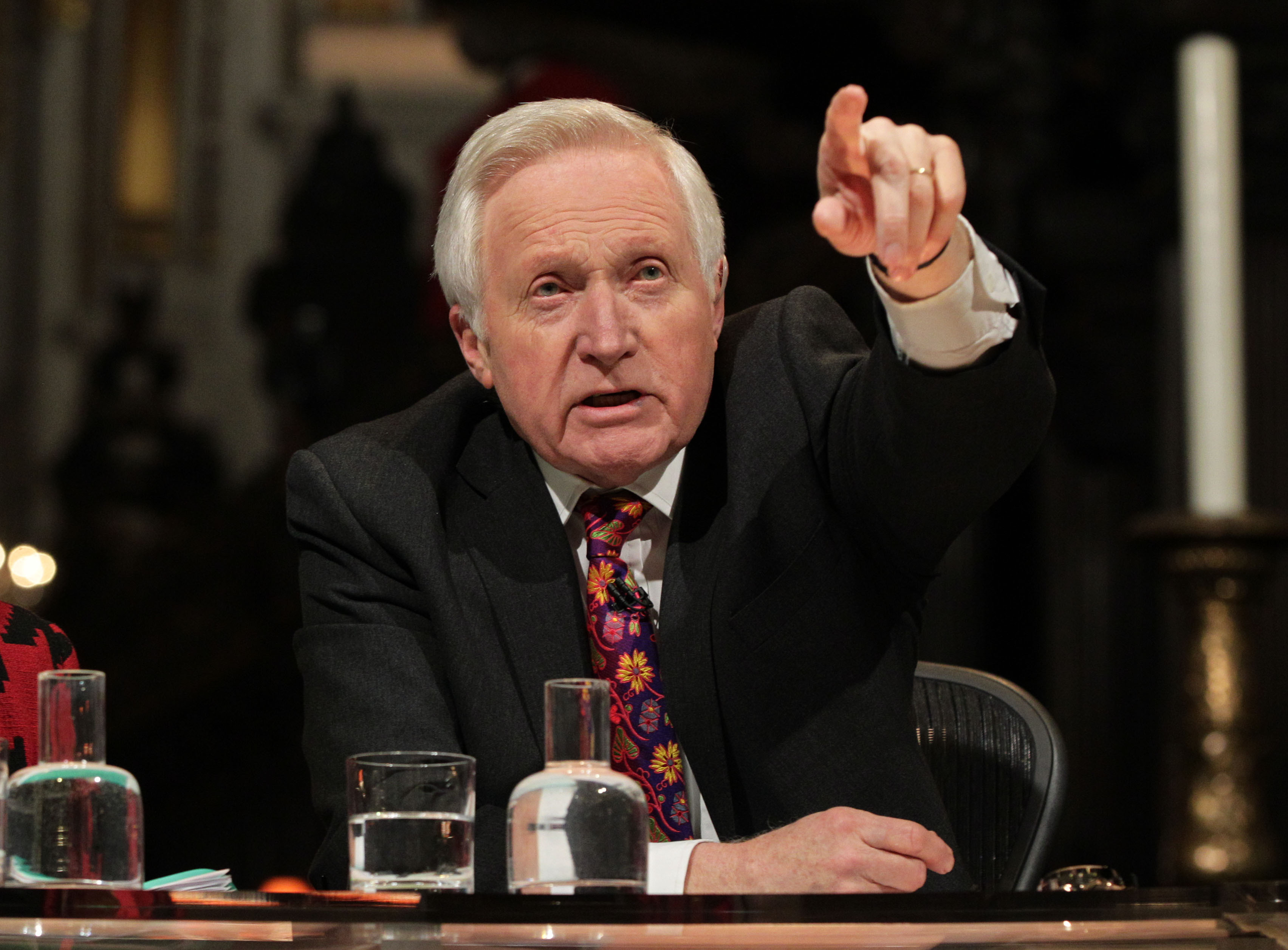 David Dimbleby to host Margaret Thatcher funeral coverage and Question Time special