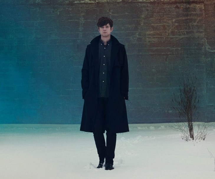 James Blake was nominated for British male solo artist at the 2014 BRIT Awards (Picture: Universal)