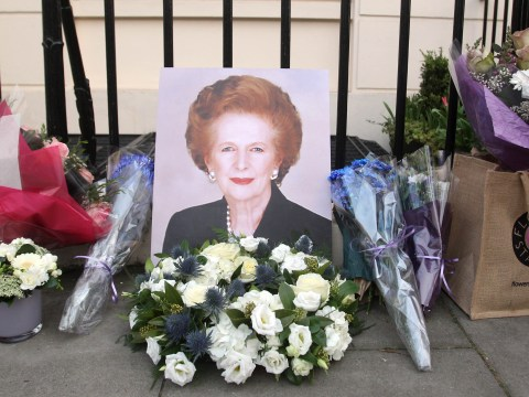 Gallery: Reaction to the death of Margaret Thatcher