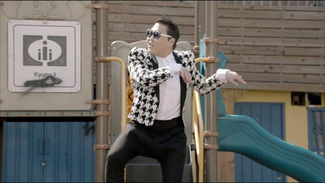 Psy still here and dancing in his new track Gentleman(Picture: YouTube)