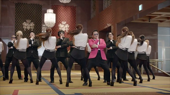 Psy's Gentleman has broken the YouTube record for most views in a single day (Picture: YouTube)