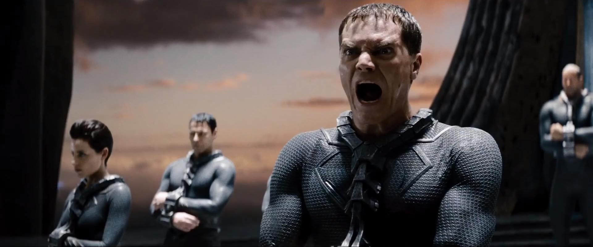 Michael Shannon plays General Zod in Man of Steel (Picture: Warner Bros)