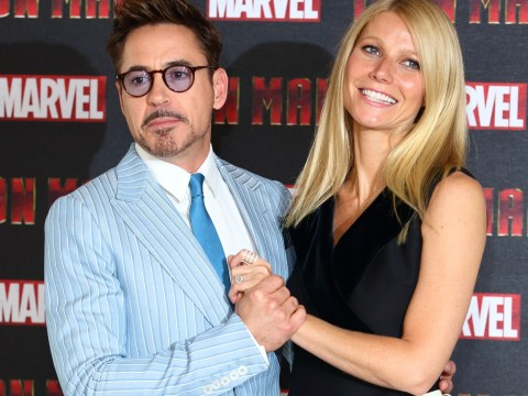 Gwyneth Paltrow admits she had never heard of Iron Man as she slaps Robert Downey Jr in the face