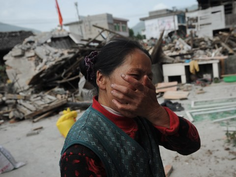 Gallery: Scores dead after earthquake in China's Sichuan province