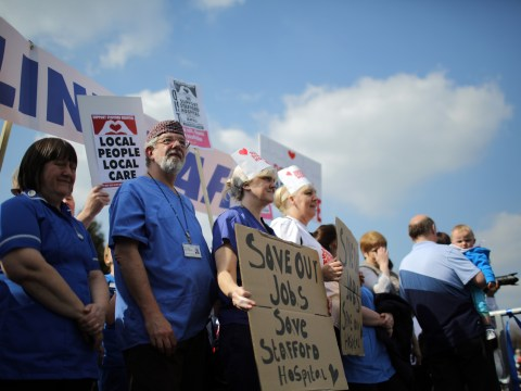 Gallery: Stafford Hospital survival march attracts 30,000 campaigners