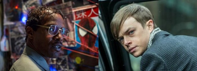 Max Dillon and Harry Osborn are revealed in the new Amazing Spider-Man 2 photos (Picture: Twitter/Marc Webb/Dane DeHaan)