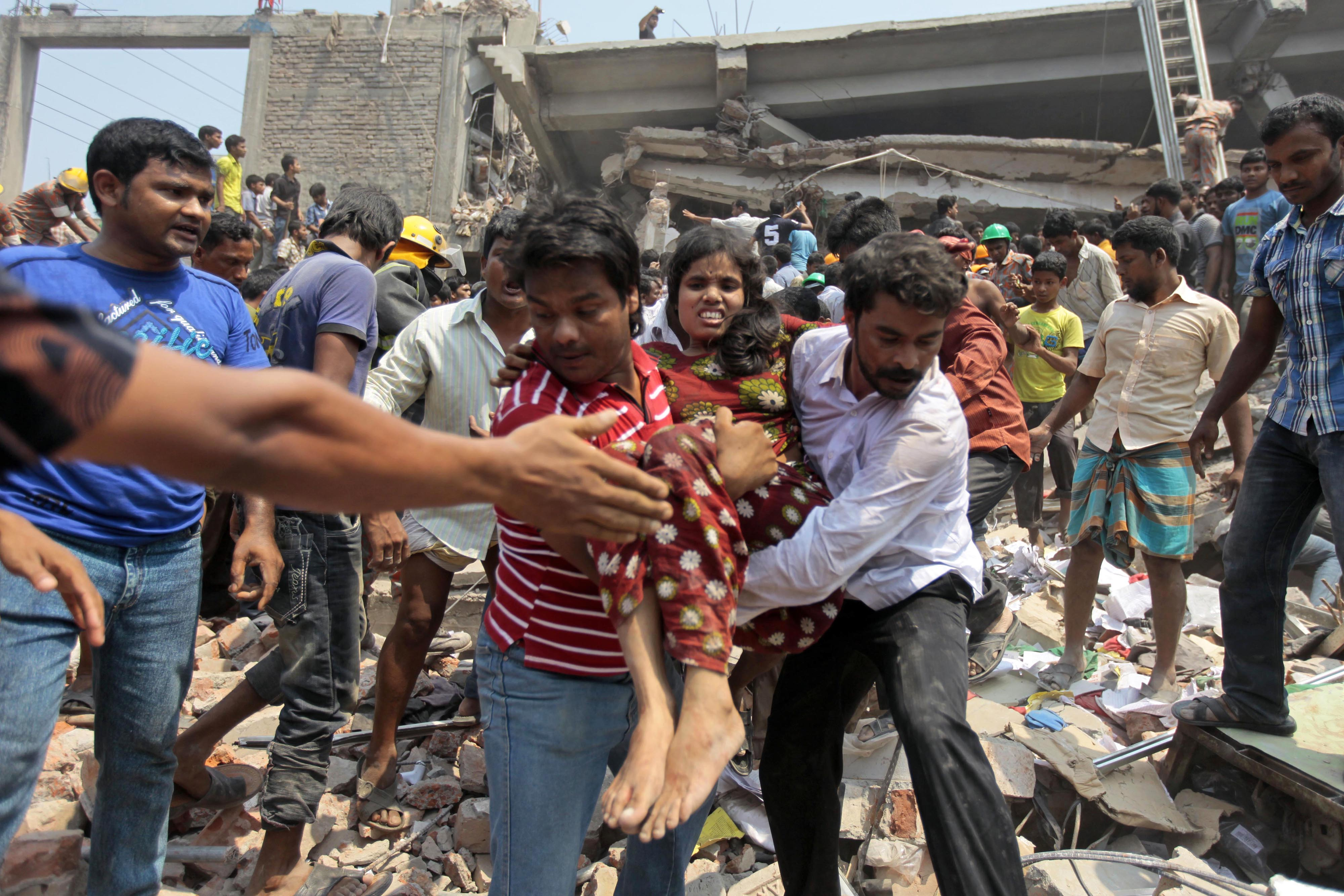 The price of cheap clothes: 100 die as sweatshop factories collapse