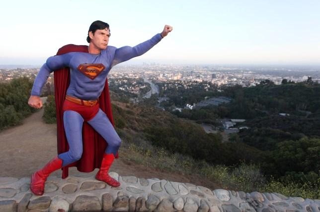 Superman Enthusiast Christopher Dennis