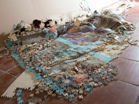 Jigsaw maker in pieces after masterpiece collapses