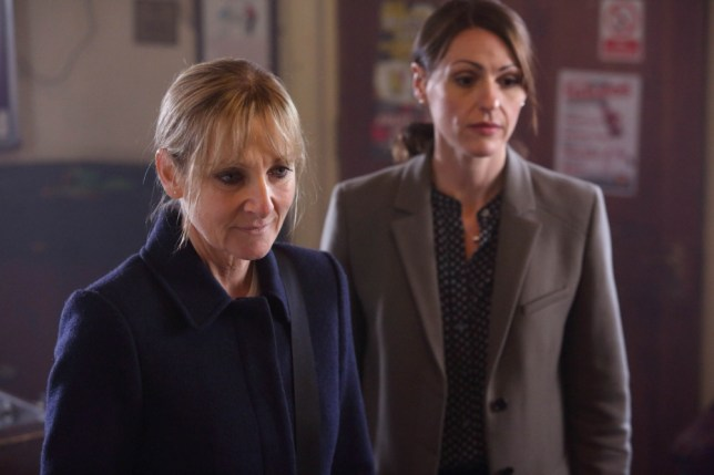 Lesley Sharp and Suranne Jones in the new series of Scott & Bailey